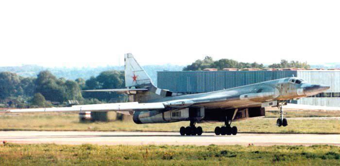 The first war Tu-95 and Tu-160