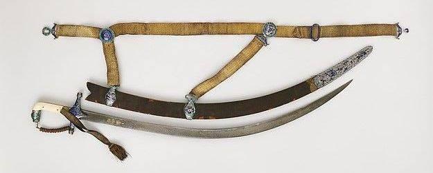 Armas indias en el Museo Metropolitano de los Estados Unidos (parte de 4)