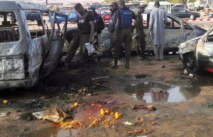 媒体:两名自杀式炸弹袭击者在尼日利亚爆炸