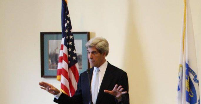 Kerry, IG'nin yeterince hızlı bir şekilde başa çıkabilmesi umudunu dile getirdi