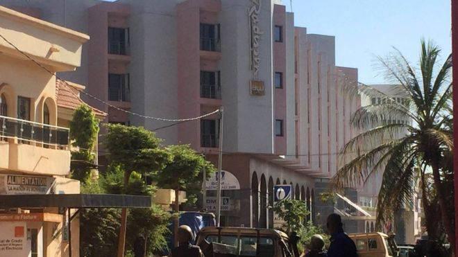 Reféns na capital do Mali