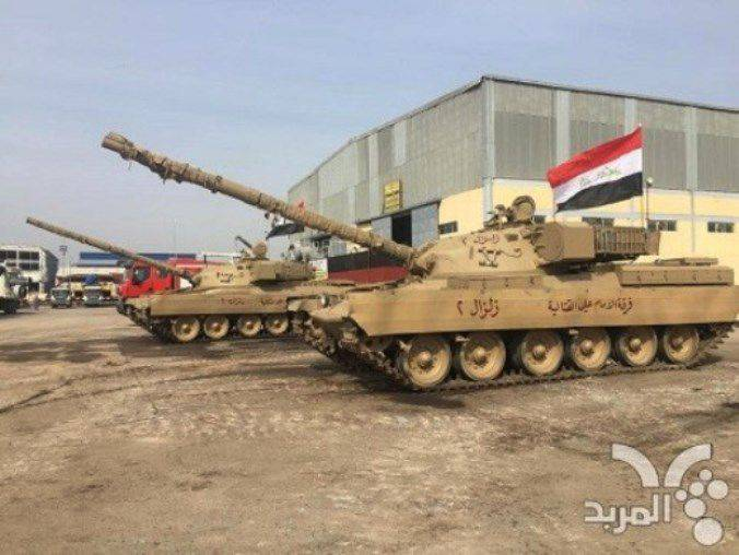 "Irak restaura trofeos de tanques ""Chieftain"""