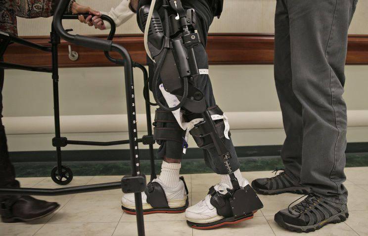 Ministerio de Defensa decidió financiar el desarrollo del exoesqueleto.