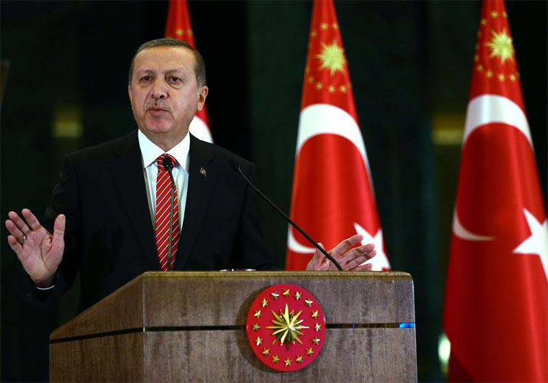 "Turkish President announces that the country's air force ""did not know which country belonged to the military aircraft"" attacked on the eve"