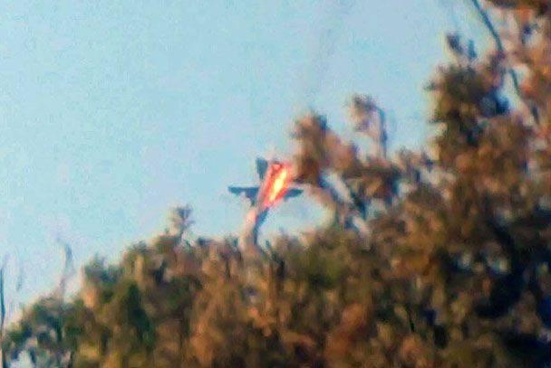 미디어 : 특수 작전 중에 구출 된 Su-24을 조종 한 조종사 중 한 명이