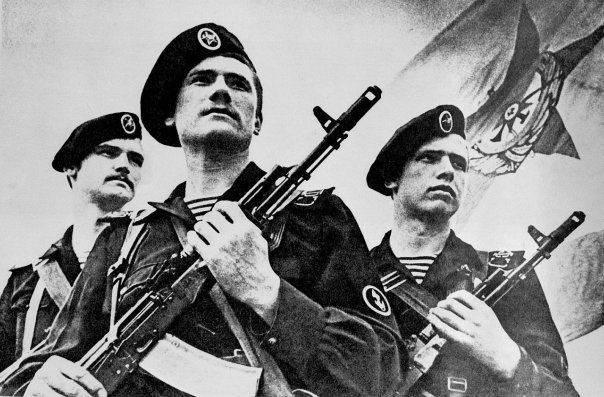 """Jour de la marine. Années 310 aux """"soldats de la mer"""" russes"""