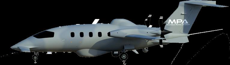イタリアのピアジオエアロスペースの多目的MPAパトロール航空機
