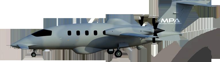 इतालवी कंपनी PIAGGIO एयरोस्पेस के बहुउद्देशीय MPA गश्ती विमान