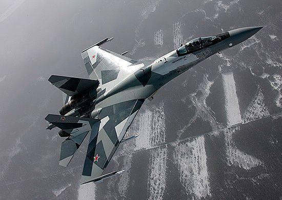 VOZ regimento aerotransportado reabastecido com o mais recente lutador Su-35С