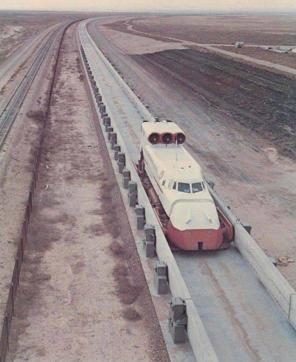 O projeto hovercraft aeronáutico Grumman TLRV