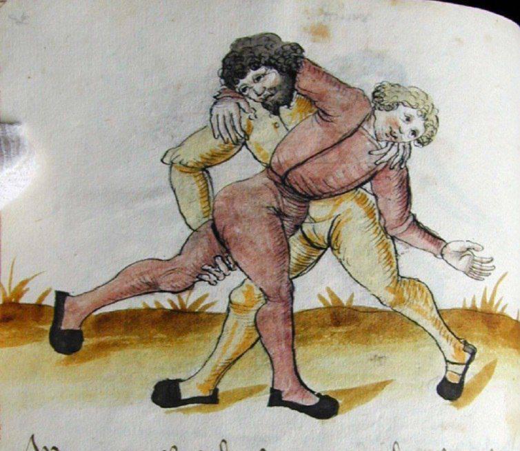 Perfil de batalla-7: Lucha medieval alemana