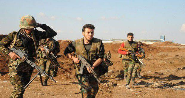 Reports on the progress of the Syrian army
