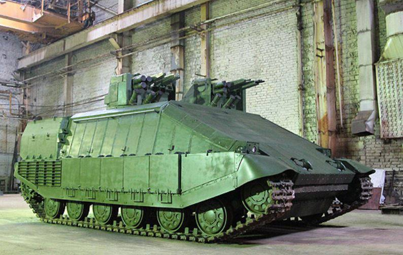 "The new Ukrainian tank ""Azovets"" should terrify the enemies of ""Square"""