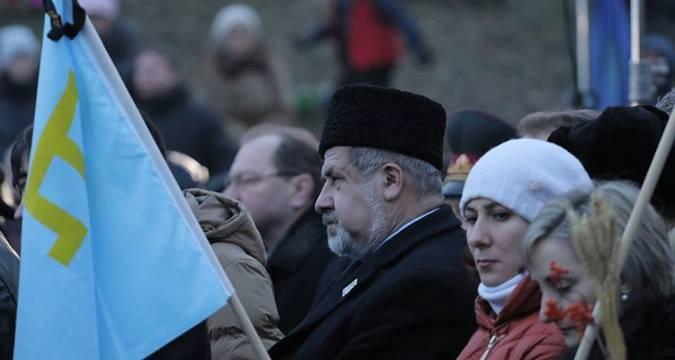 """Il burattino """"Mejlis"""" non è soddisfatto del rogo di Erdogan """"imbottito"""" a Simferopoli"""