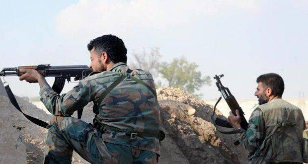시리아 군대는 살마시를 진드기로 받아 들였고 대규모 무장 단체를 파괴 할 작전에 착수했다.