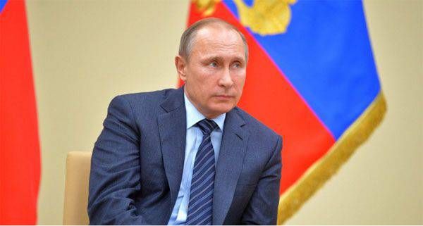 The President of Russia proposes to grant the participants of the counter-terrorist operation in Syria (to the servicemen of the Armed Forces of the Russian Federation) the status of war veterans