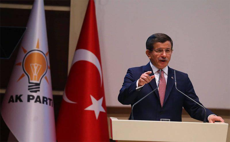 Logik Davutoglu: Wir werden uns nicht bei Russland entschuldigen, wir werden eine Überprüfung der verbotenen Maßnahmen aus Russland erwarten ...