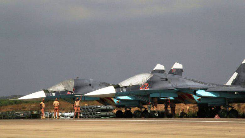 Su-34 in Syria began to arm air-to-air missiles