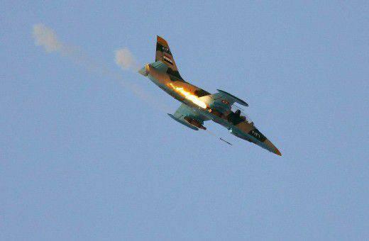 Terroristen in Syrien hatten Angst vor L-39ZA-Flugzeugen als Feuer