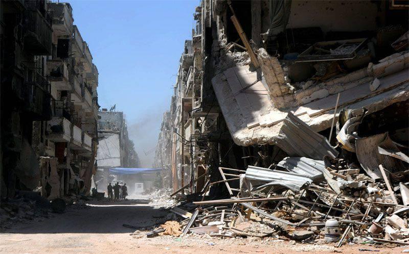 """BM Homs bölgelerinden birinde """"geçici ateşkes"""" ilan etti"""