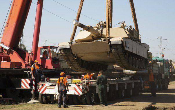 美国继续向东欧转移军事装备