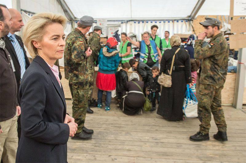 जर्मन रक्षा मंत्री: हम रूस को सीरिया में उड़ान भरने के बारे में सूचित नहीं करेंगे ...