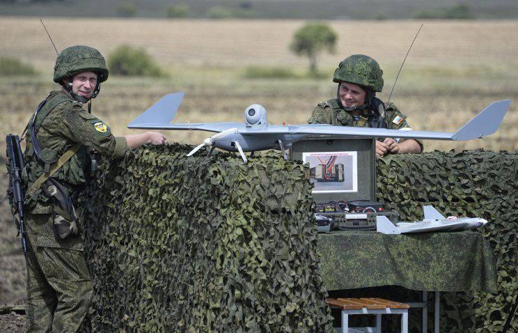 Mídia: Em 2016 g, os militares russos receberão drones com maior alcance de voo