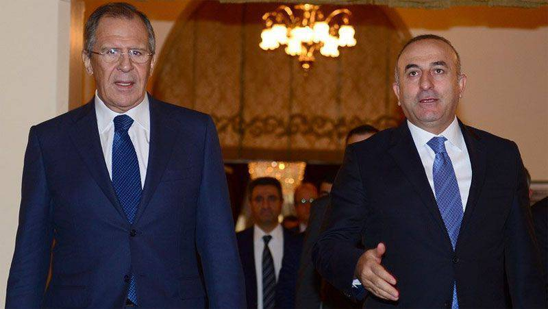 What did the Turkish Foreign Minister ask for Sergey Lavrov during the meeting in Belgrade?
