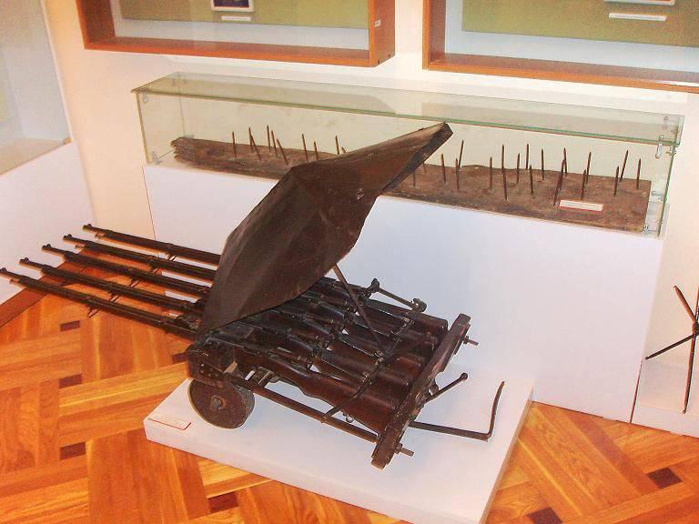 Maschinengewehr I.B. Shmetillo: Chinesische Gewehre und russisch versierte
