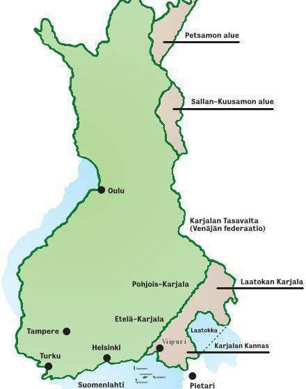 Os finlandeses vão acampar
