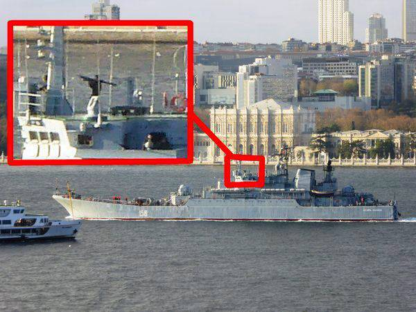 Turkish Foreign Ministry: the appearance of a military man with MANPADS in the hands of a Russian ship in the Bosphorus is a provocation