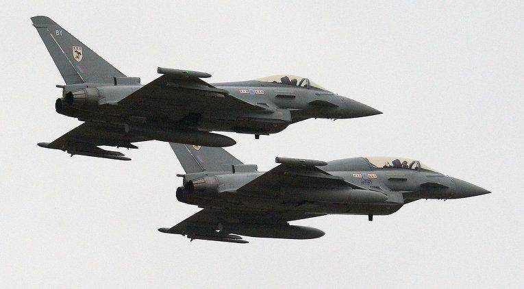 British Tornado in Syria will cover Typhoon fighters