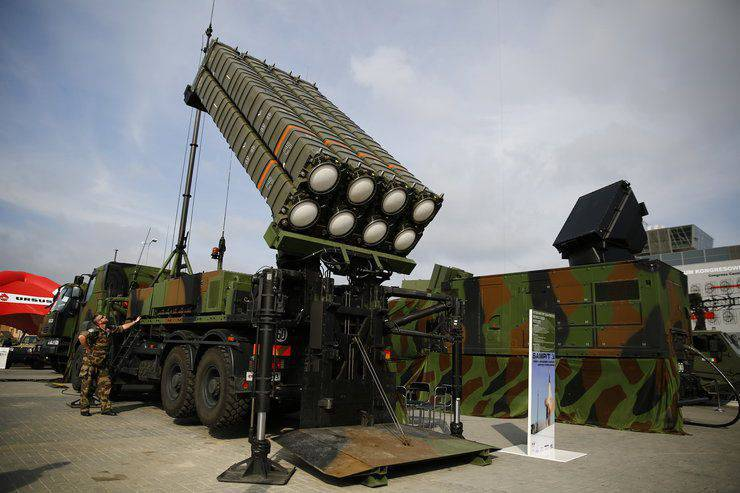 Ankara intends to place on the Syrian border the air defense system of European production