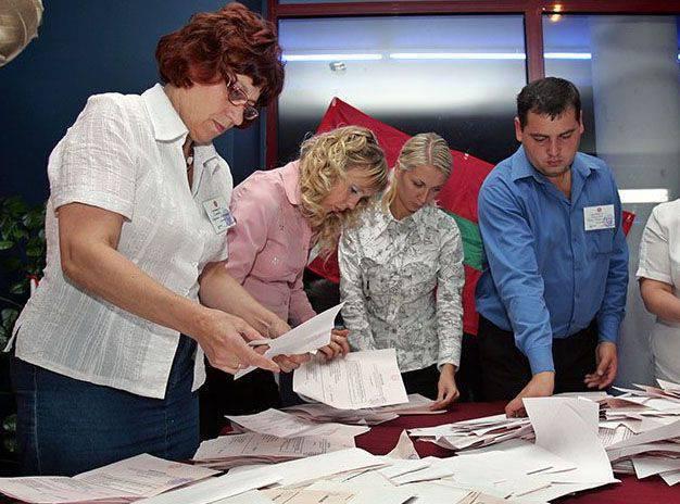 沿ドニエストルでの議会選挙の結果。 ミンスク-3はドニエストル川の銀行に移動していますか?