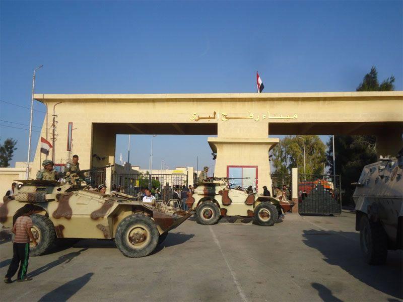 西奈(埃及)北部的另一次恐怖袭击事件