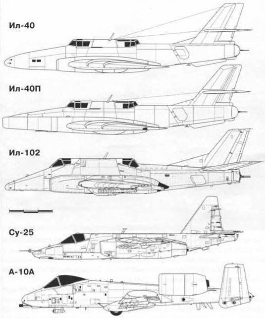 무거운 공격 항공기 IL-102