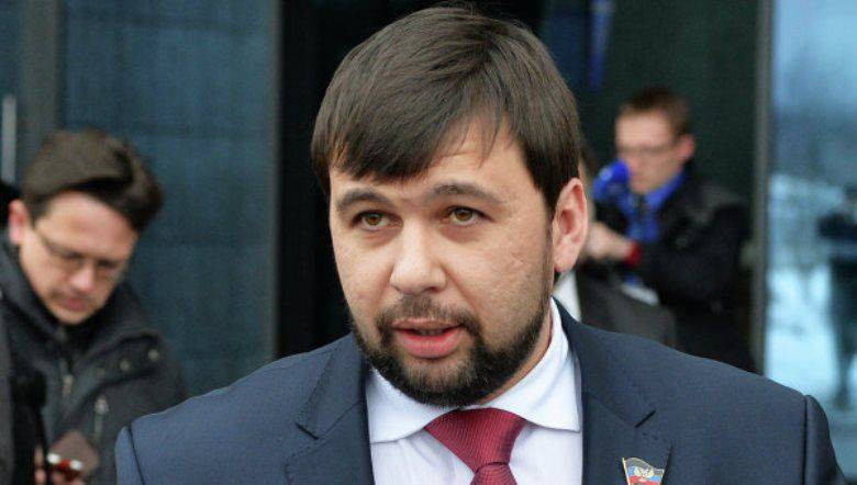 Pushilin announced a new threat of escalation in the Donbass