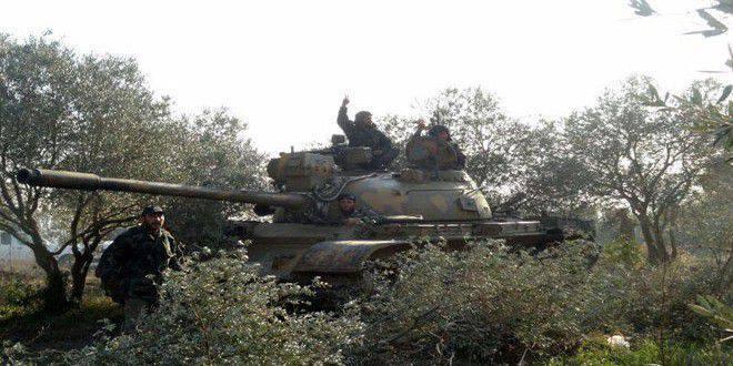 오늘의 시리아 군대 활동 요약