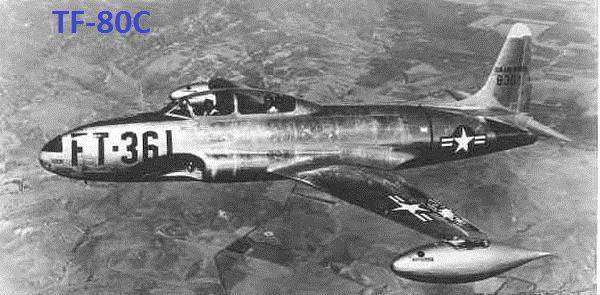 """Starfire"" de la guerre de Corée. Intercepteur F-94 ""Lockheed"""