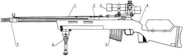 Rifle de precisão MTs-116M