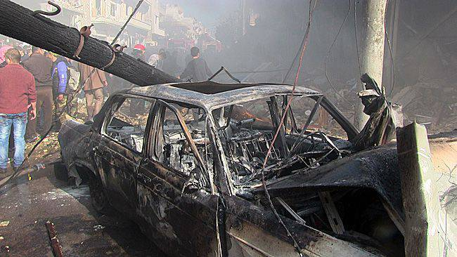 Syria, the war continues - the attack in Homs. Report from the scene of the tragedy