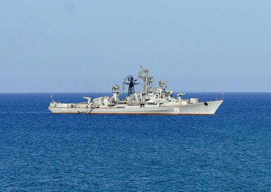 On the incident with the Russian military ship and the Turkish seiner in the Aegean Sea