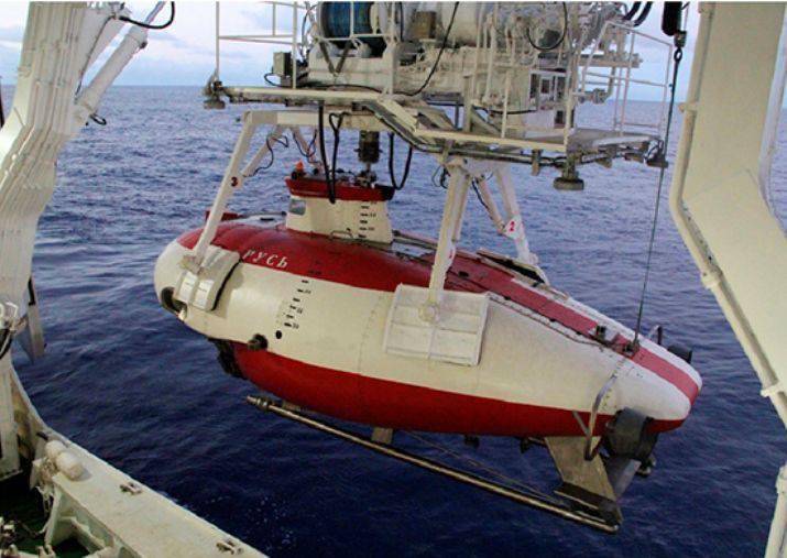 """Il ministero della Difesa ha completato il collaudo dell'apparato di acque profonde """"Rus"""""""