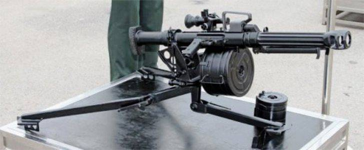 Chinese automatic grenade launchers in Syria