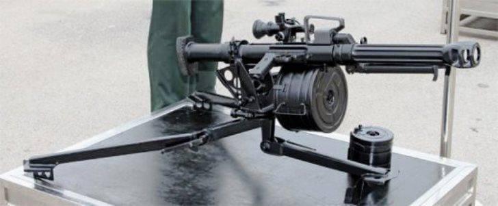 시리아의 중국 자동 수류탄 발사기