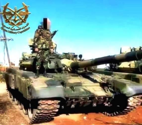 Unter Aleppo gesehene T-90 Probe 1992 g