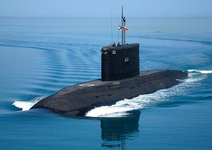 "The submarine ""Rostov-on-Don"", who shot out on December 8 on targets in Syria, entered the Black Sea"