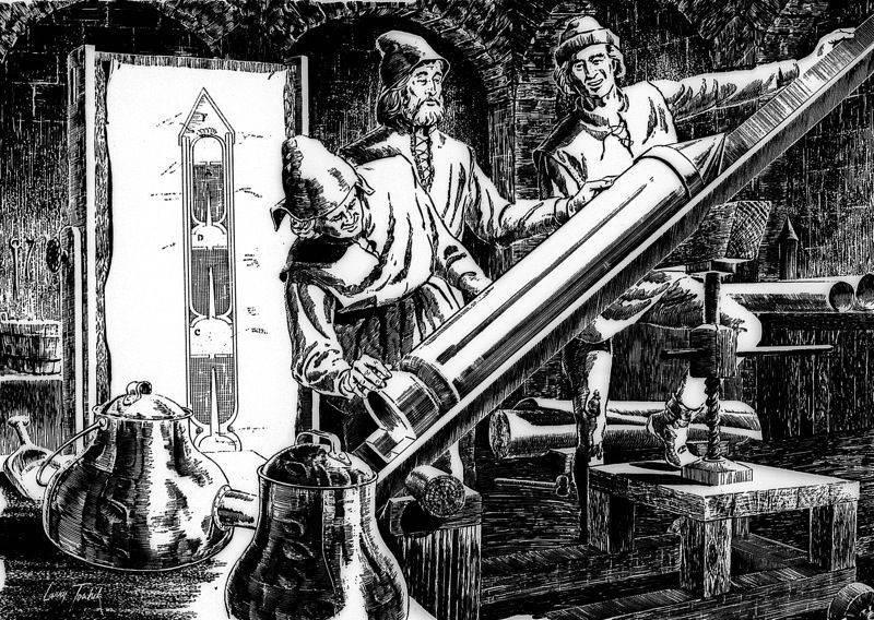 Kazimir Semenovich: el fundador de la tecnología de cohetes del siglo XVII.