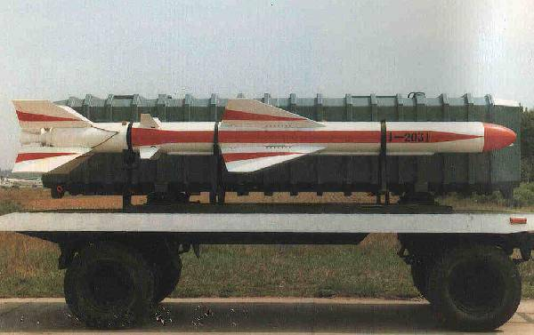 Chinese anti-ship missiles. Part 2