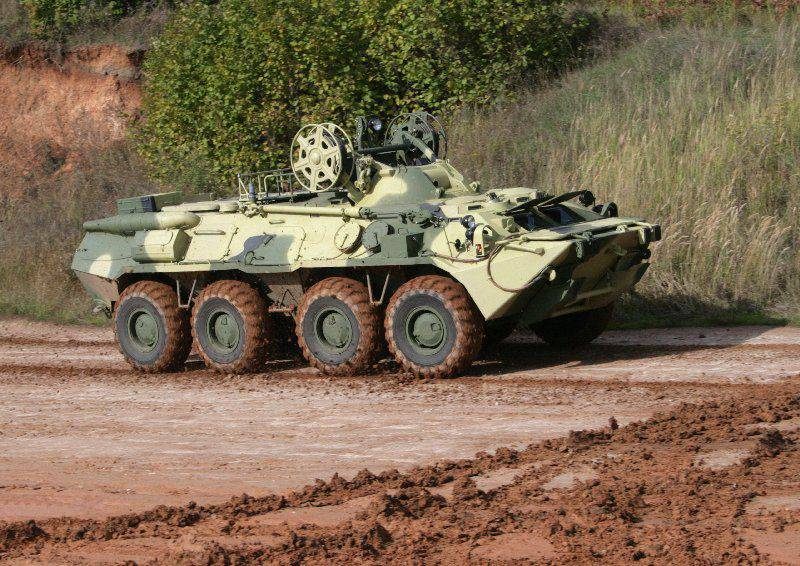 Armored recovery vehicle BREM-K